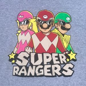 Other - Super Rangers Graphic Tee Sz M
